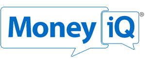 MoneyiQ logo, links to the video page