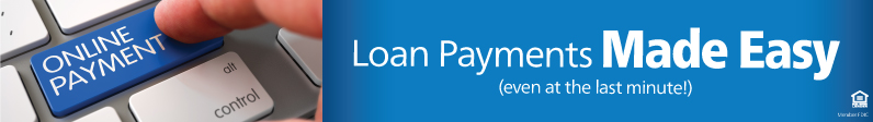 Loan Payments Made Easy image, on the page with more information on loan payment options.