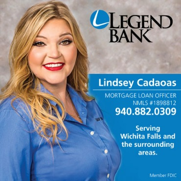 Lindsey Cadaoas, Mortgage Loan Officer, Serving Wichita Falls and the surrounding areas.