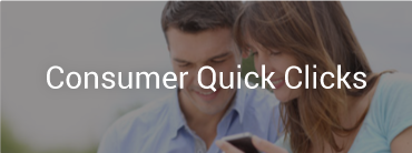 "Image of a couple looking at their phone and image reads ""Consumer Quick Clicks"""