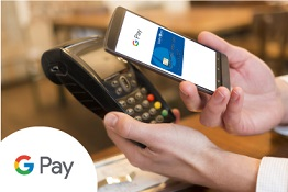 Paying at the terminal with Google Pay