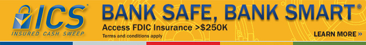Insured Cash Sweep (ICS) image with information, on ICS page with more information