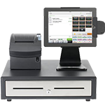 photo of an iPad POS System