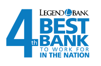 4th Best Bank to work for in the Nation