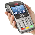 handheld card payment device