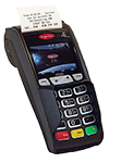 card payment device with receipt printer