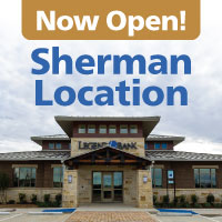 Now Open Sherman Location Picture of the Sherman branch
