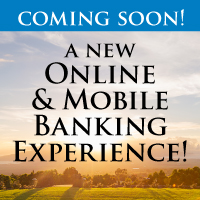 Coming Soon A new online & mobile banking experience with sunrise