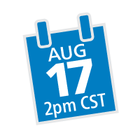 Aug 17, 2 pm Date Icon