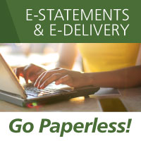 E-Statements and E-Delivery  Go Paperless!