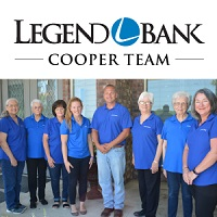 Legend Bank Cooper Team, photo of bankers in Cooper
